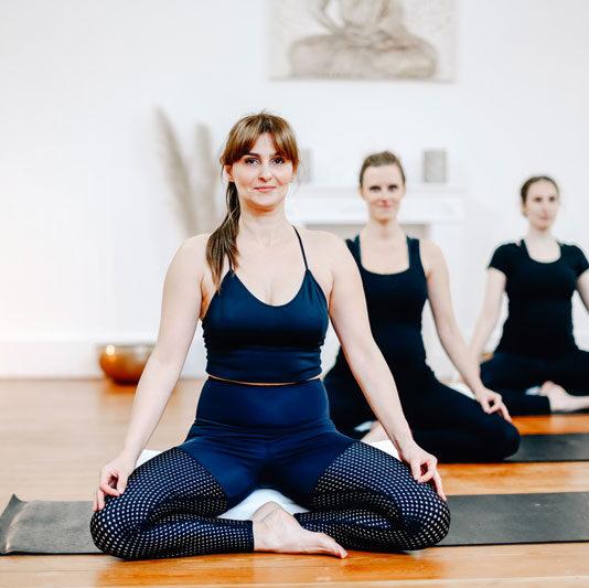 Candida de Sousa, Yogalehrerin in Wuppertal